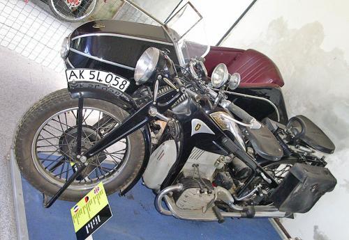 K800 Sidecar Sinsheim