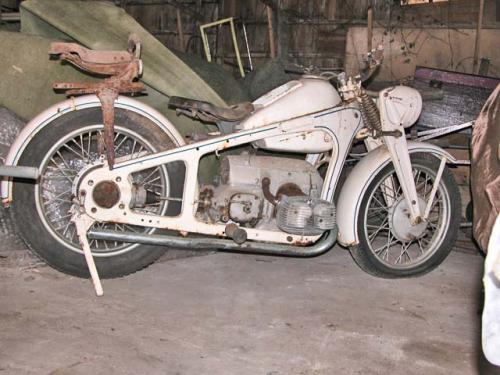 Unrestored KS600 Brest-France