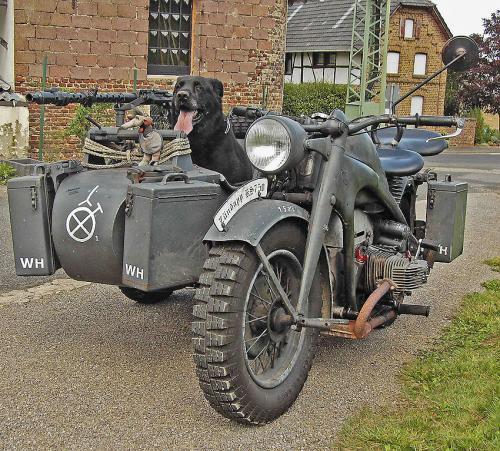 KS750 with sidecar